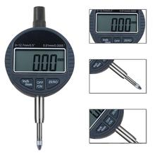 Digital Indicator Electronic Micrometer Digital Micrometro 0-12.7mm High-Precision 0.00mm Dial Indicator Gauge With Retail Box three point fixation thickness inside micrometer 20 25mm 0 005 micrometro measuring tool high precision plicometro