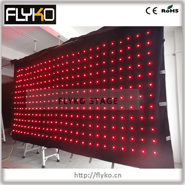 Free shipping P18CM 2.5M*5M led stage lighting /disco light led party lights