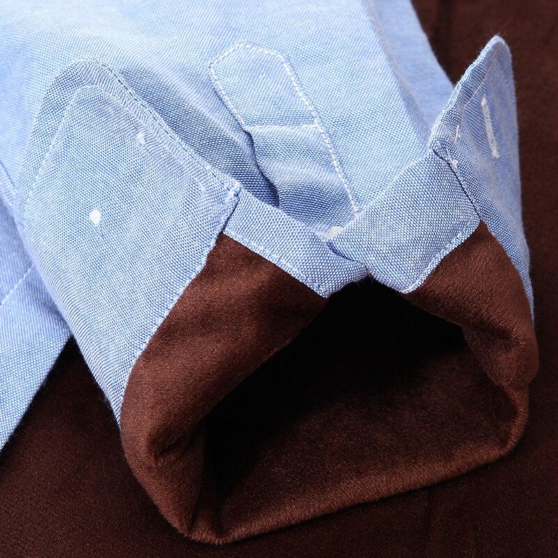 Slim fit solid color mandarin collar casual shirts 4