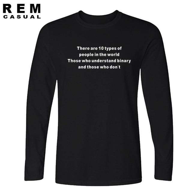 5903b403bb66 New Quality Understand Binary Funny Web Developer T Shirts O Neck Fashion  Cotton Male Long sleeve
