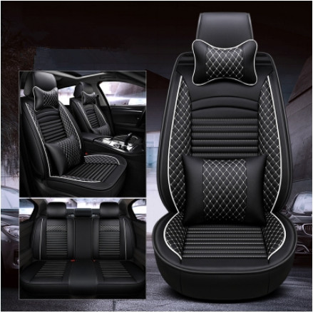 High quality! Full set car seat covers for Volkswagen Tiguan 2018 durable breathable seat covers for Tiguan 2019,Free shipping image