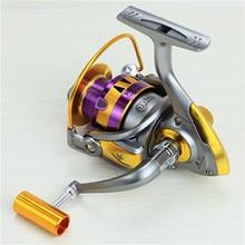 Yumoshi Brand Fishing Reels Pre-Loading Wheel Line Spinning Fly Fishing Wheels Aluminum Metal Cup Ocean Lake River Fake Bait