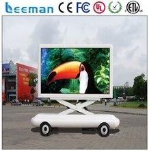 Leeman р20 мобильный p10 прокат ван / транспортное средство / car / прицеп / грузовик реклама аудио мобильного автомобиль из светодиодов дисплей