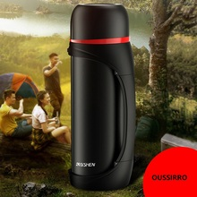 Stainless Steel Insulated Thermos Bottle 1L/2L Outdoor Travel Coffee Mugs Thermal Vaccum Water Bottle Thermal Mug thermos bottle 350 ml coffee mug stainless steel creative cute rabbit bear outdoor school office travel mugs thermos bottle mug
