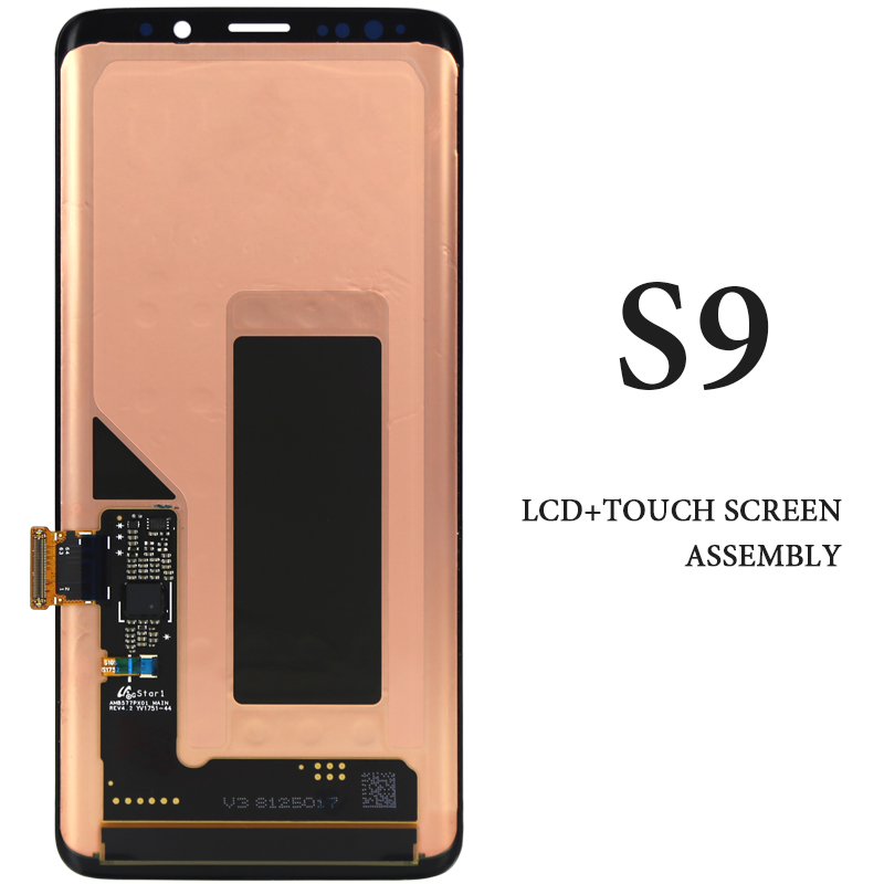 1PCS Super AMOLED For Samsung Galaxy S9 LCD Display Touch Screen Digitizer Assembly For Samsung S9