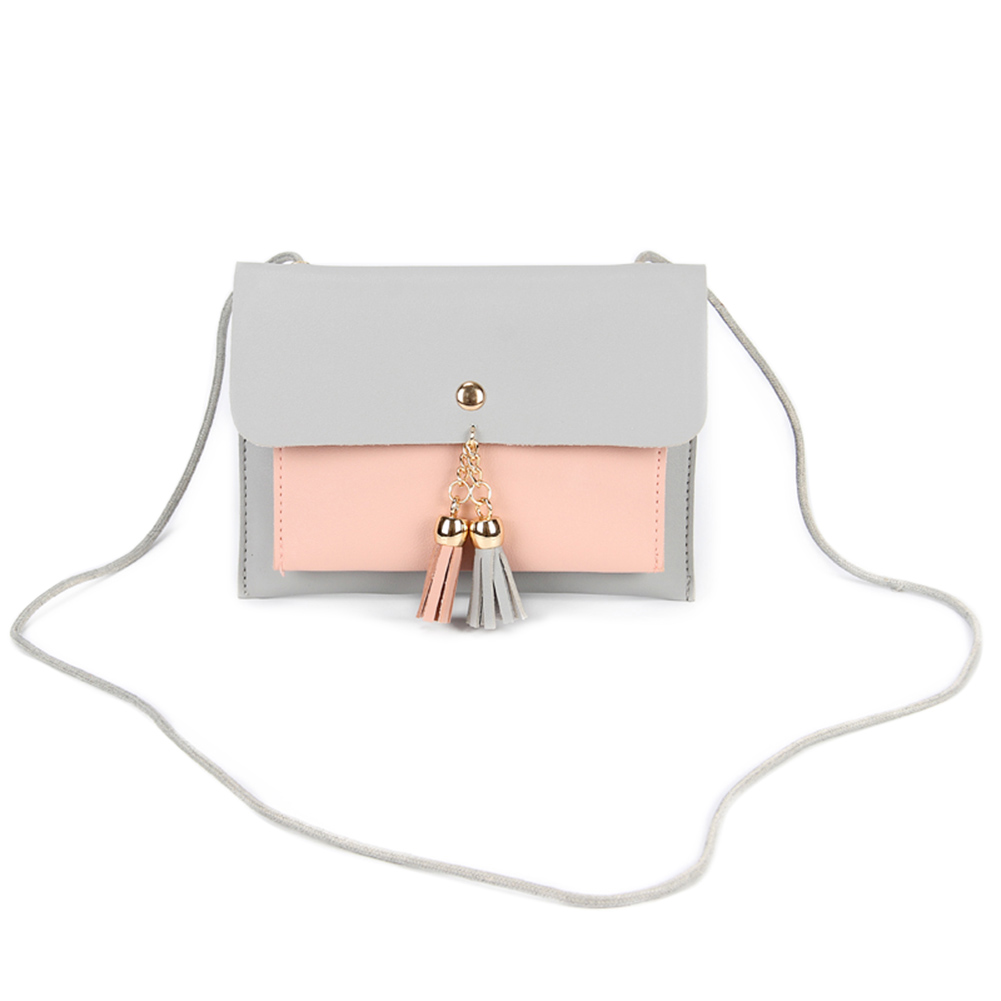 Women Mini Small PU Leather Shoulde Bag Coins Phone Money Holder Tassel Crossbody Bags Best Sale-WTWomen Mini Small PU Leather Shoulde Bag Coins Phone Money Holder Tassel Crossbody Bags Best Sale-WT