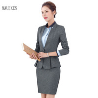 Women Solid Blazers And Jackets Pants Ladies Long Sleeve Office Lady Suits Plus Size Single Button
