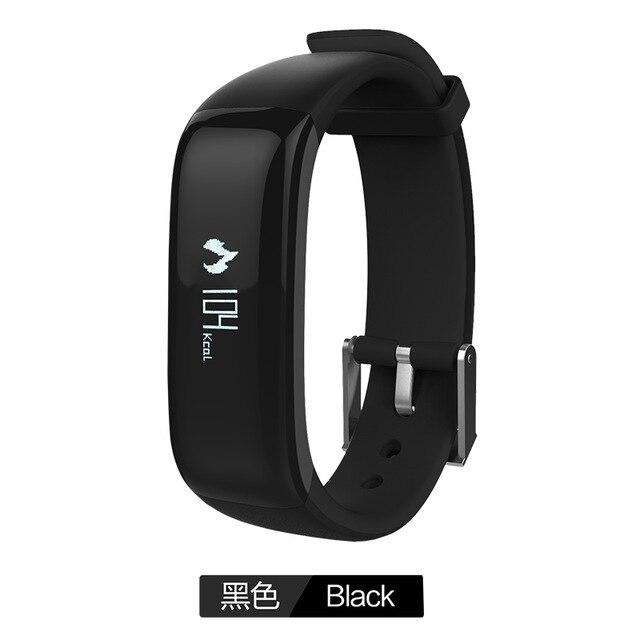 66d27d8d8b2ac4 P1 Smartband Activity Tracker Intelligente di Pressione Sanguigna Orologio  Banda Intelligente Pedometro Wristband Bracciale Fitness Per iOS Andriod in  P1 ...
