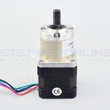 27:1 Planetary Gearbox Nema 17 Stepper Motor 1.68A for DIY CNC Robot 3D Printer