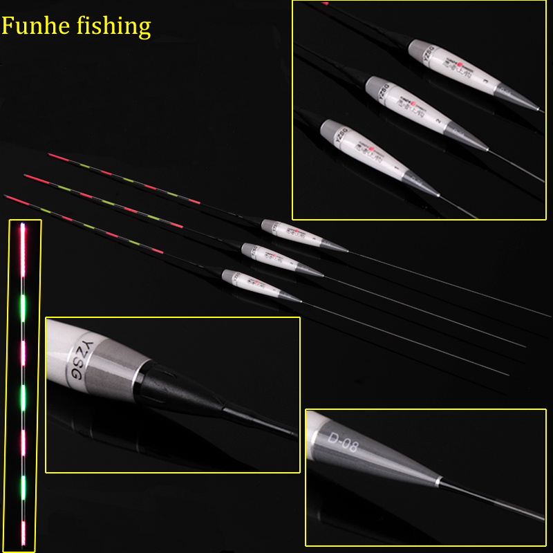 Image 5 - 3pcs/lot Luminous Float Fishing Buoy Night Fishing Floats Led Fishing Stopper Bobber Fishing Tackles Equipment Without Battery-in Fishing Float from Sports & Entertainment