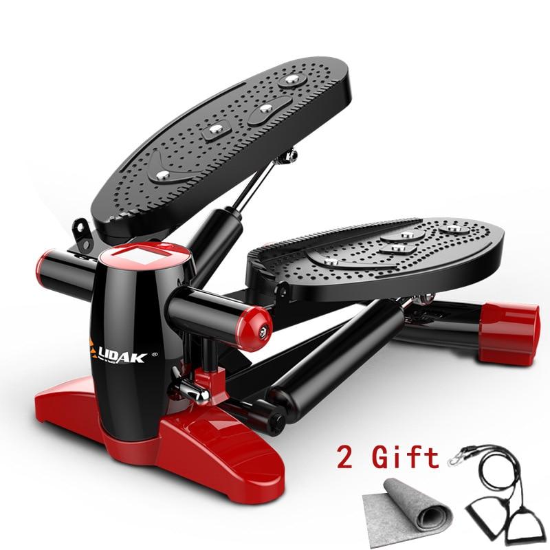 Mini tapis roulant multifonctionnel pour la maison équipé silencieux perdre du poids pédale équipement de Fitness Steppers Machines de course sport