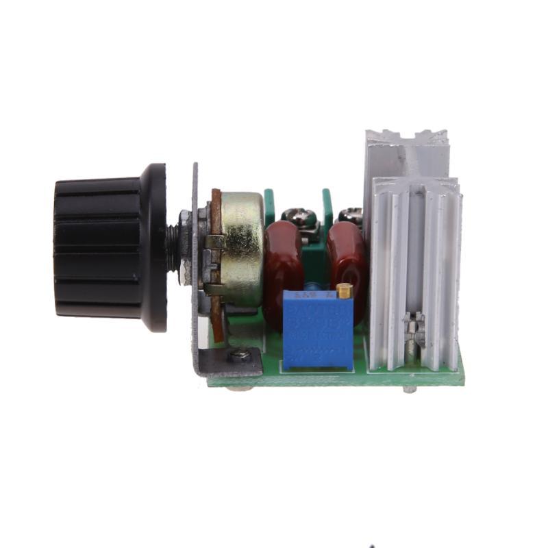2000W AC 50-250V 25A Adjustable Motor Speed Controller Voltage Regulator Lighting Dimmer For Lighting Dimmer Small Motor Speed