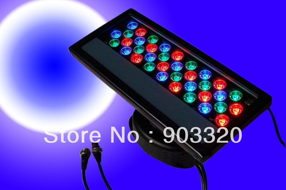 Открытый Водонепроницаемый IP65 дешевле светодиодный шайбы стены 36*3 Вт RGB светодиодный настенный светильник линейной стадии настенные свети