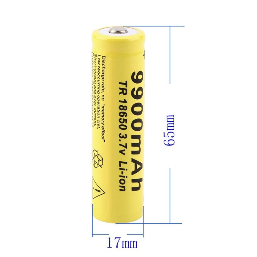 Image 4 - 20pcs 3.7V 18650 Battery Lithium Battery 9900mAh 3.7V Rechargeable Battery Li ion Lithium Bateria For Flashlight-in Rechargeable Batteries from Consumer Electronics