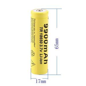 Image 4 - 20pcs 3.7V 18650 Battery Lithium Battery 9900mAh 3.7V Rechargeable Battery Li ion Lithium Bateria For Flashlight