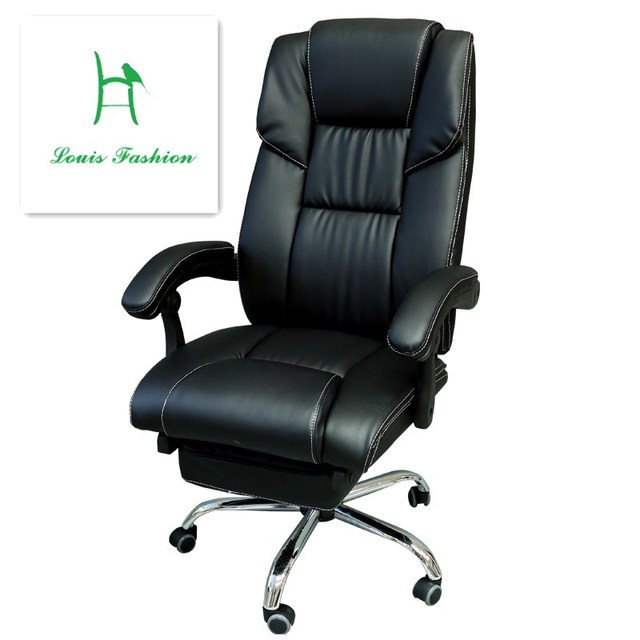 luxury leather office chair. lengthen the boss chair home lying down of large luxury leather foot office