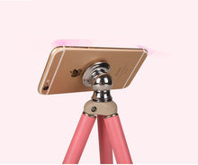 Mobile phone color tripod anchor live broadcast stand watch TV mini tripod handheld desktop universal CD50(China)