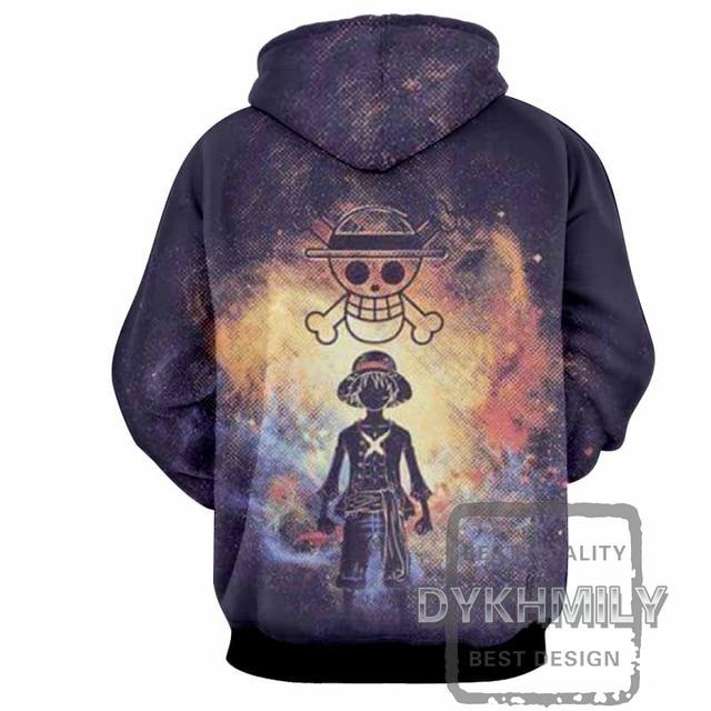One Piece 3D Print Hoodie Sweatshirt