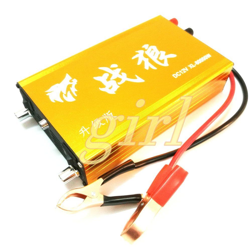 Upgraded Snow Wolf Multifunctional Intelligent Inverter Head High Power and Power Saving 12V Electronic Boost Converter