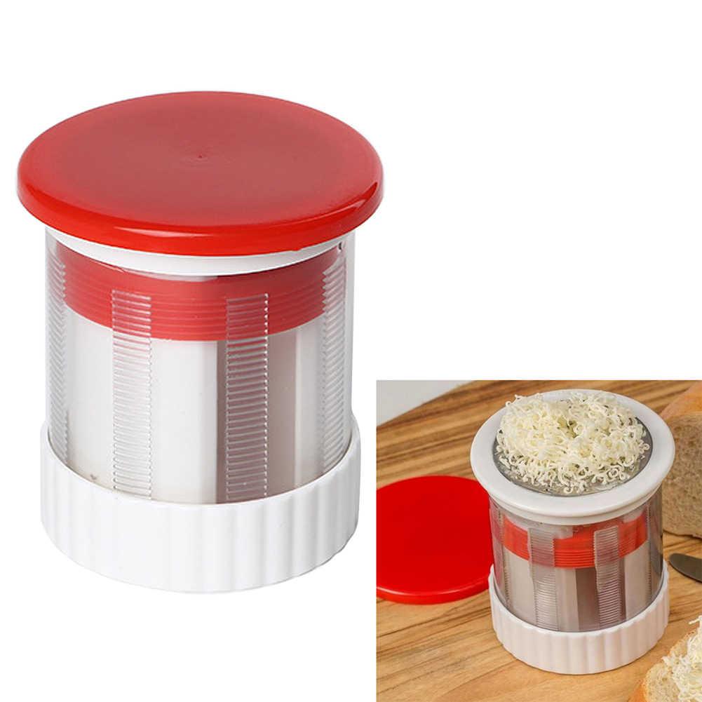 Stainless Keju Parutan Mentega Mincer Penggiling Buah Sayur Mesin Penghancur Slicer Dapur Alat Penggiling Makanan Bayi Suplemen Alat