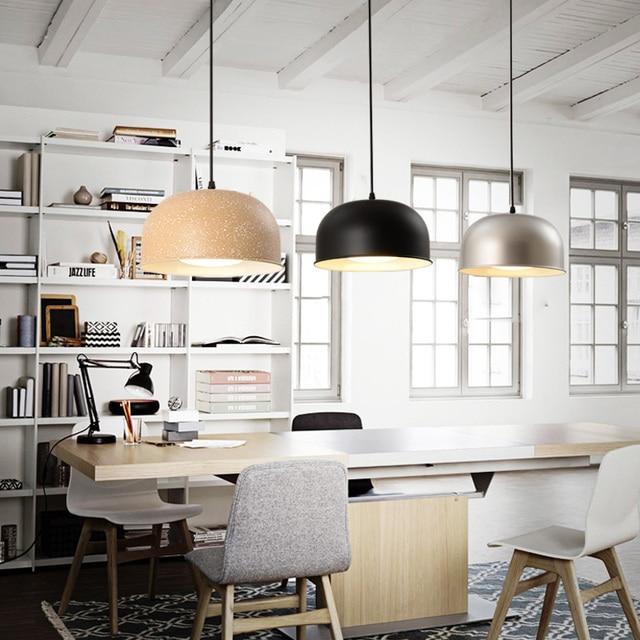 Regron Minimalism Pendant Lighting Single Head Creative Brass Hanging Lamp Retro Suspension Luminary For Bar Restaurant Corridor