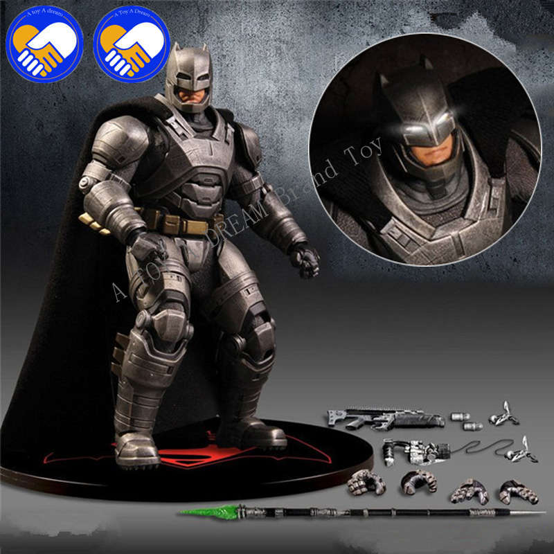 Batman Action Figures Play Arts Kai Batman v Superman Dawn of Justice Anime Collectible Model Toy Heavily-Armored Playarts Kai tobyfancy play arts kai action figures batman dawn of justice pvc toys 270mm anime movie model pa kai heavily armored bat man