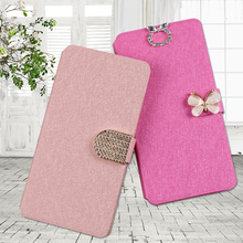 QIJUN For Samsung Galalxy Core I8262 Case Cover PU Leather Flip Wallet Cases Fundas i8262 Phone Bag Card Slot Coque