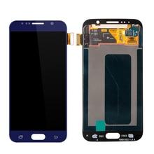 3 PCS/Lot Tampilan Layar Sentuh Digitizer Untuk Samsung galaxy S6 G920F G920A SM-G920F LCD Screen Penggantian Gratis Pengiriman