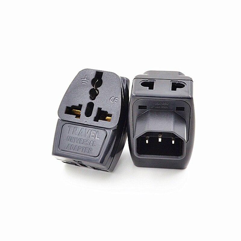 5Pcs 3 in 1 IEC 320 C14 Male to C13 Female Power Adapter PDU/UPS C13 Universal Female AU/US/UK/EU Special Conversion Plug