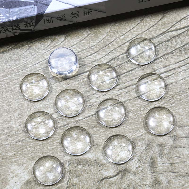Hot-selling 8mm 10mm 12mm 14mm 15mm 16mm 18mm 20mm 25mm 30mm circular transparent glass. High quality. New product promotion