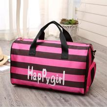 Sports Travel Pink Quality Bag Big Capacity Luggage Female Bags Duffle Outdoor gym bag