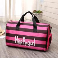 Sports Travel Pink Quality Sports Bag Big Capacity Luggage Female Bags Duffle Bags Outdoor gym bag