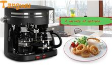 Free shipping new American Italian household drip type automatic steam coffee machine