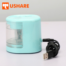 USHARE Mechanical Automatic Electric Pencil Sharpeners Office Accessories Support Battery USB Charge For Kids