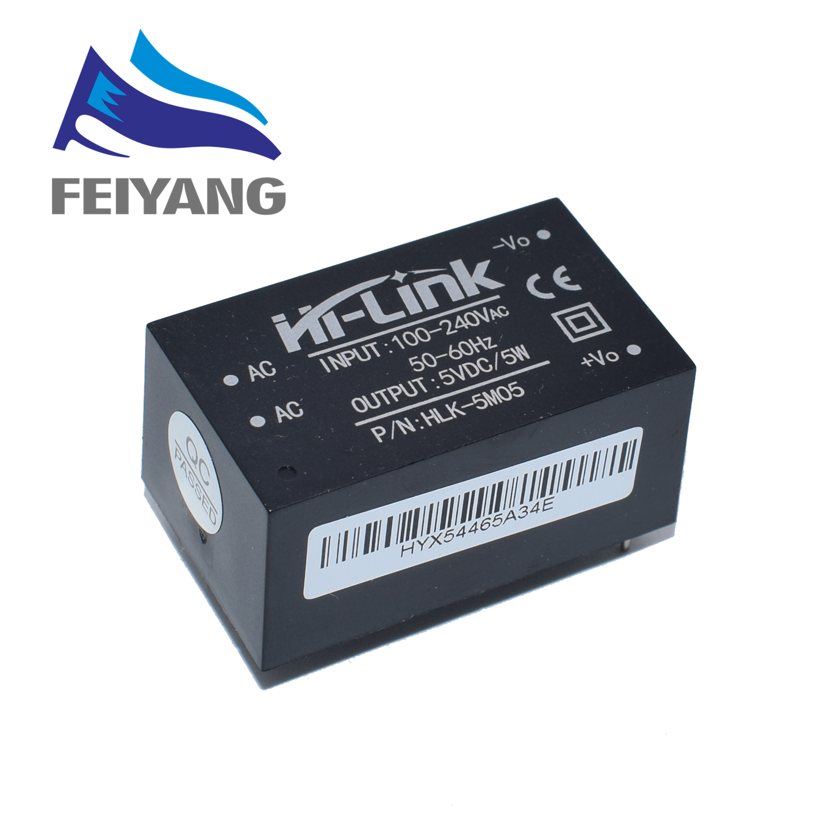 Image 2 - 5pcs HLK 5M05 HLK 5M03 HLK 5M12 5W AC DC 220V to 12V/5V/3.3V Buck Step Down Power Supply Module Converter Intelligent-in Integrated Circuits from Electronic Components & Supplies