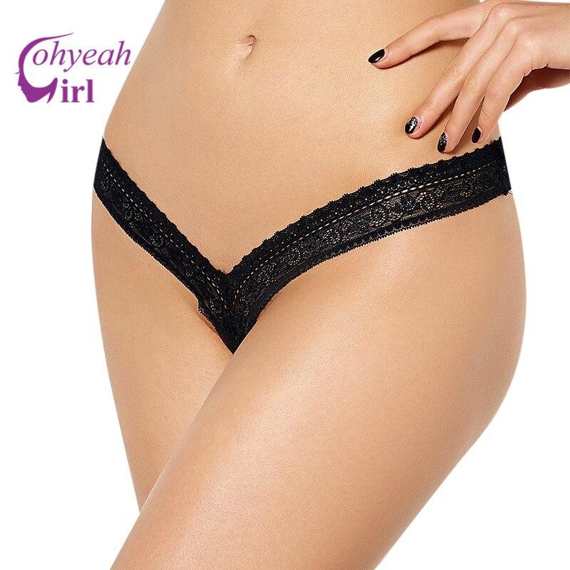 Buy PW5084 Ohyeahgirl Wholesale retail plus size g strings multi colors transparent lace underwear hot sale women sexy thongs