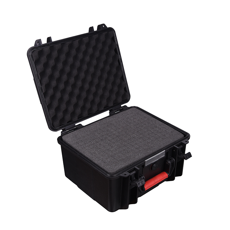 ABS Case Tool Box Suitcase Impact Resistant Sealed Waterproof Toolbox 260*200*143mm Camera Case Equipment Box With Pre-cut Foam
