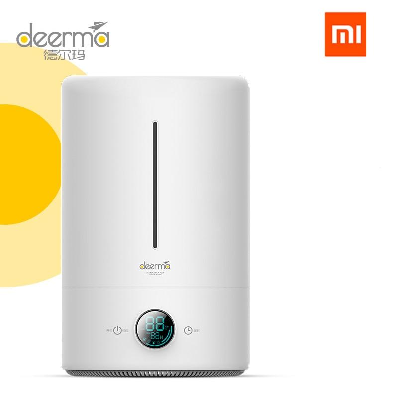 Original xiaomi Mijia deerma 5L humidificador de aire 35db silencioso purificador de aire para habitaciones con aire acondicionado hogar Oficina