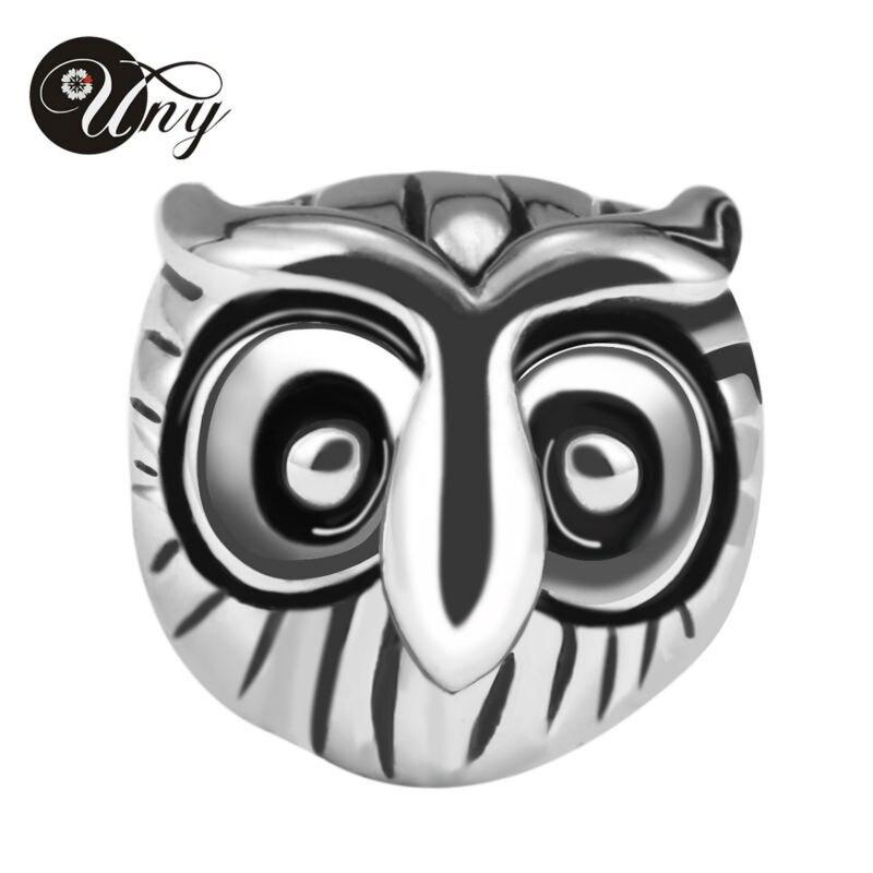 UNY 925 Sterling Silver Beads origami owl Korálky Fit Pandora Korálky Náramky Ženy Narozeniny Dárková móda Korálky Fit Pandora