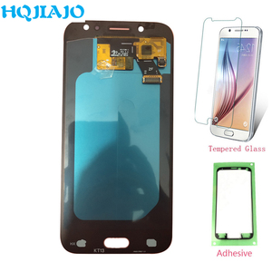 Image 1 - Super Amoled LCD Screen For Samsung J530 J5 Pro 2017 J530Y Touch Screen Digitizer LCD Display For Samsung Galaxy J5 Pro J530F