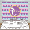 Girls Birthday Mermaid Prince Backdrops Baby Shower Photography Background Invitation Celebration Party Allenjoy Personalized