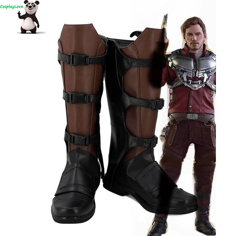 Guardians of the Galaxy Star Lord Peter Jason Quill Costume Cosplay Christmas