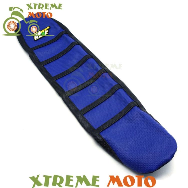 Новый синий мягкий захват Чехол для сиденья для YAMAHA YZ250F YZF250 YZF450 YZ450F 06-09 мотоциклов Мотокросс эндуро грязь велосипедов внедорожные