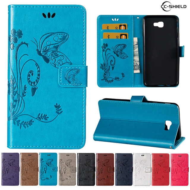 new style 4c0ec 08115 US $4.41 6% OFF|Case for Samsung Galaxy J7 Prime G610 G610F/DS Leather Flip  Cover Wallet Case for Samsung J 7 Prime SM G610F/DS Mobile phone bag-in ...