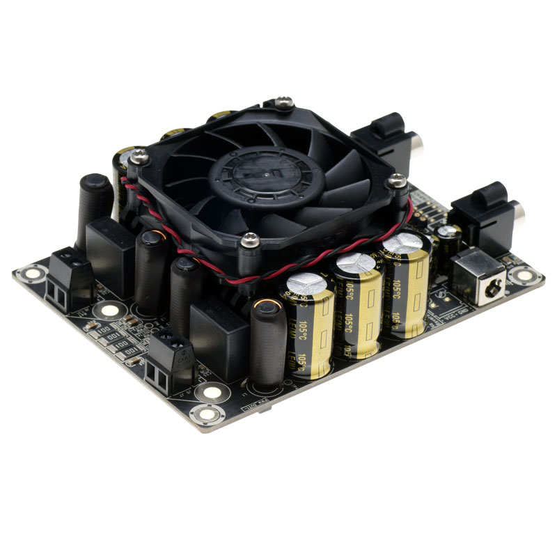 2x100 W double canal STA508 carte amplificateur de puissance numérique classe D puissance est adapté pour les oiseaux répulsif.