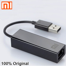 Oryginalny Xiaomi USB do RJ45 zewnętrznych karta Ethernet Adapter 10/100Mbps dla Mi BOX S 3C / 3S 4 4C SE laptop Notebook PC usb2.0