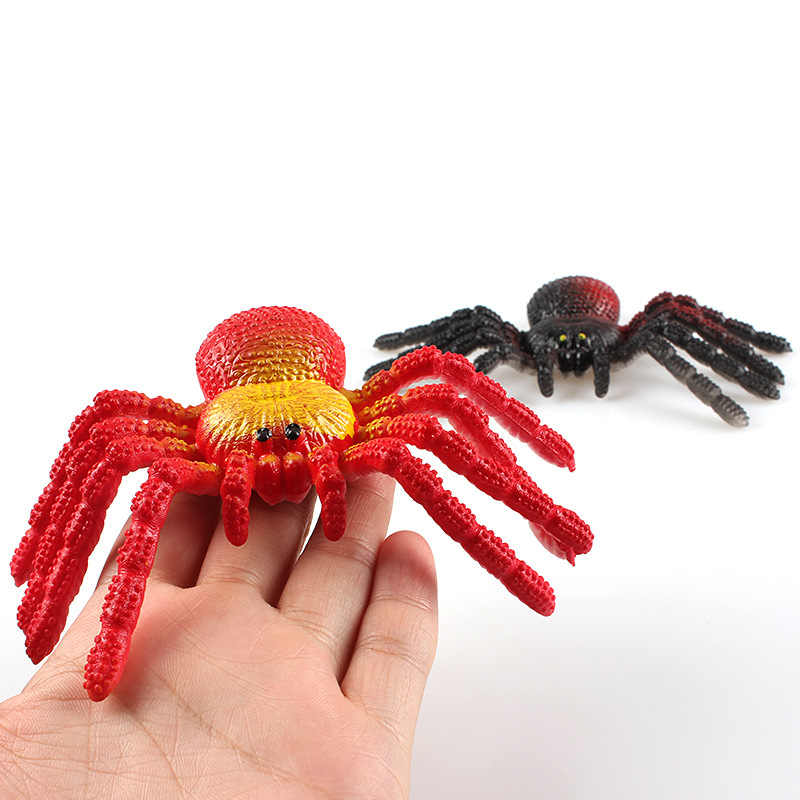 1 pedaço Macio Brinquedos Modelo Lagarto Aranha Mantis Gafanhoto Insetos Animais Figuras de Plástico Escritório Prank Brinquedos
