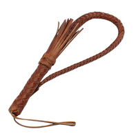 Leather Horsewhip Horse Riding Equipment Bull Leather Riding Whips Outdoor Horsewhip Harness Horse Racing Equestrian Tool