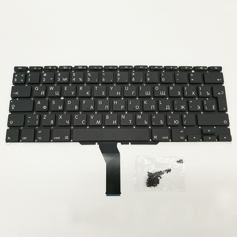 New Replacement Keyboad Russia Russian Keyboard For Macbook Air 11 A1370 2011 A1465 2012-2015