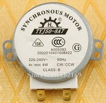 Tyj50-8a7 microondas placa giratoria Turn Table Motor Motor sincrónico TYJ508A7 aproximadamente 11 mm husillo de altura